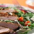 Buffalo-Style Pork Tenderloin Salad